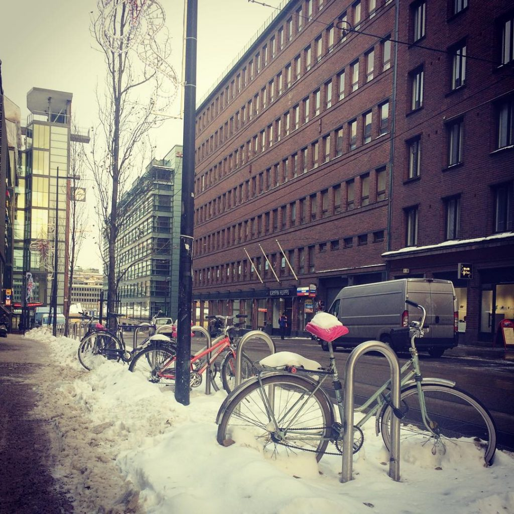 Smoorh Monday; fighting the flu, running errands and enjoying the snowy #helsinki with my bro @ivicapaic ! How is your Monday going? #instadaily #instagood #instagram #photographer #photooftheday #fromwhereistand #bycicle #visithelsinki #myhelsinki #mondaymotivation #monday #followme #walkwithme