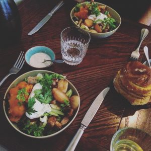 Two country style salads for the win at restaurantoxfi withhellip